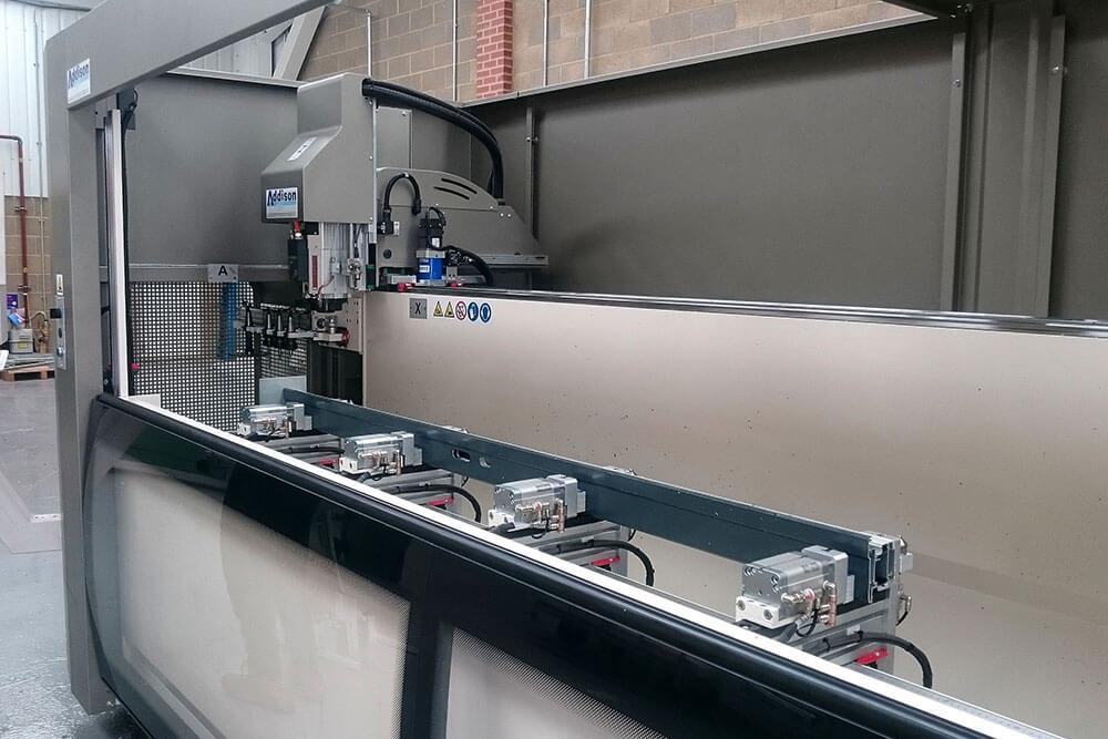 Aluminium frame manufacturing