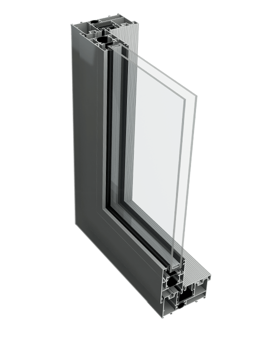 Aluminium patio door profile