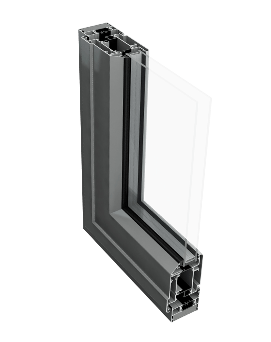 Aluminium Residential door profile
