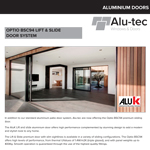 Aluminium Lift & Slide Door