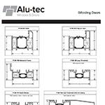 Bifolding Doors Profile Chart