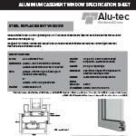 Steel Replacement Window Spec Sheet
