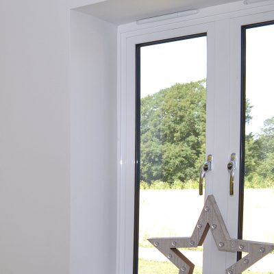 White Aluminium Casement Window