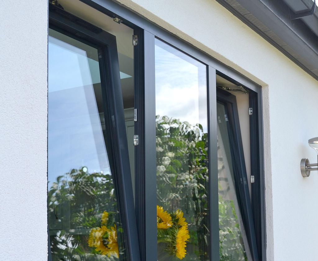 Aluminium Tilt & Turn Window - Tilt Position