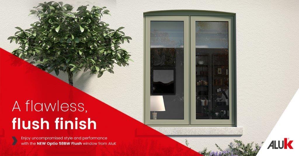 Aluk Flush Sash Window