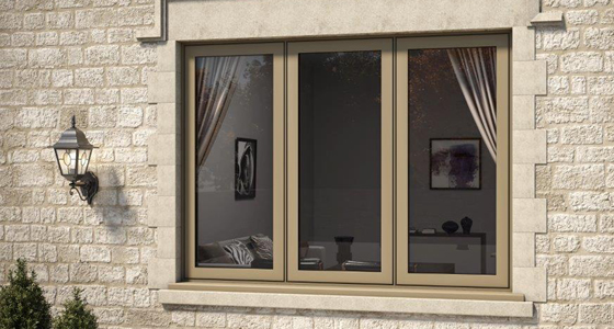 Aluminium Flush Window